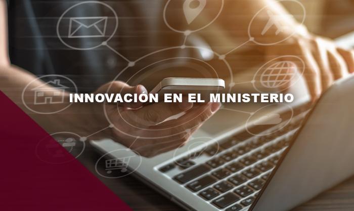Mes16 PTH450-850 Innovación en el Ministerio